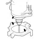 Light Bench/ Pedestal Drilling Guard