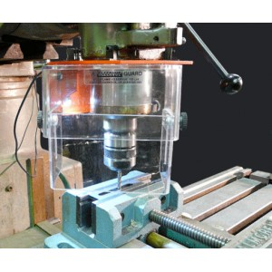 Manually Operated Milling Machine Cutter Guard